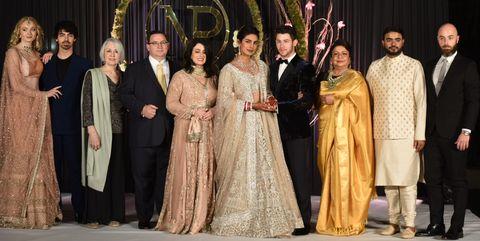 Priyanka Chopra Shares Her And Nick Jonass Family Wedding Portraits