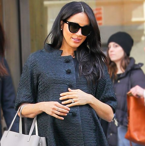 Meghan Markle Wearing Le Specs Sunglasses In Nyc For Her