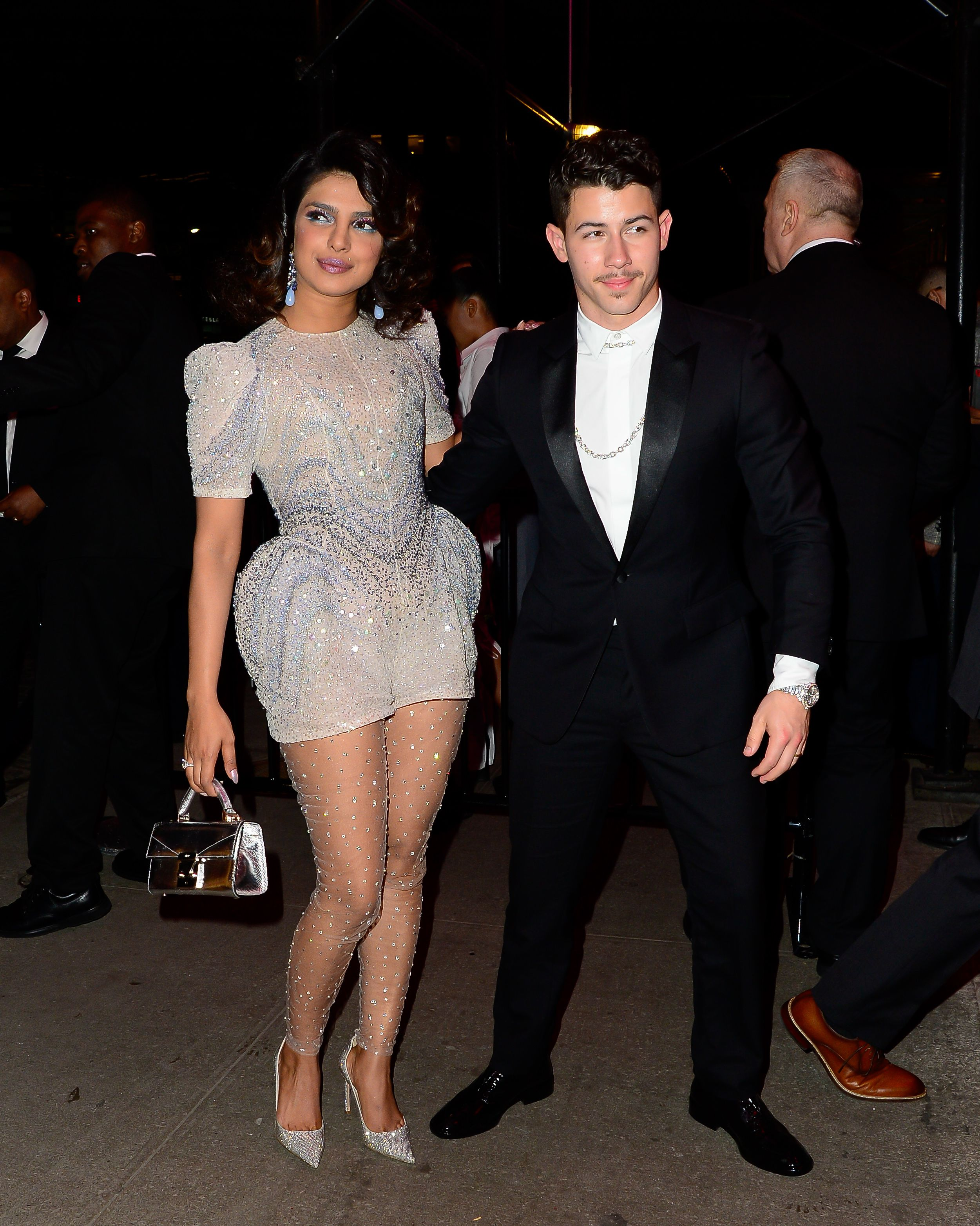 Priyanka Chopra and Nick Jonas The couple hit the Met Gala carpet looking regal as ever, then turned it up for their after party look.