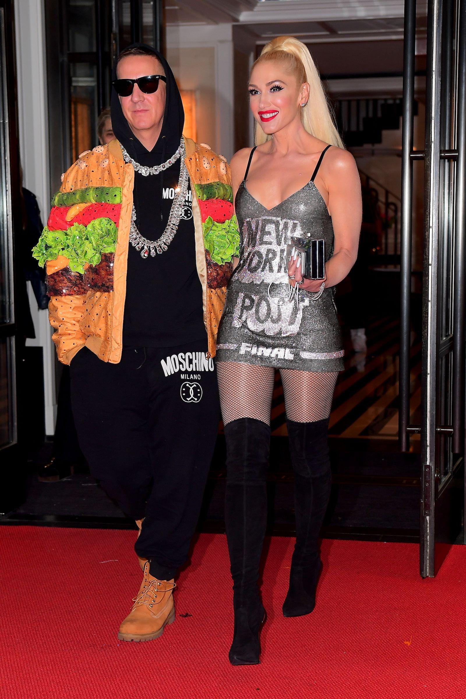 Gwen Stefani Headline in the news: Gwen Stefani Rocks Moschino.
