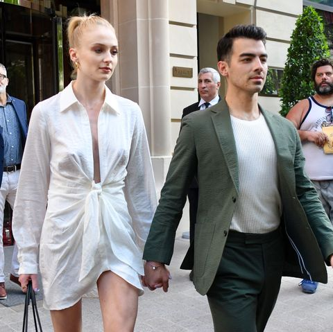 Sophie Turner Wedding.What Sophie Turner And Joe Jonas Second Wedding Was Like French
