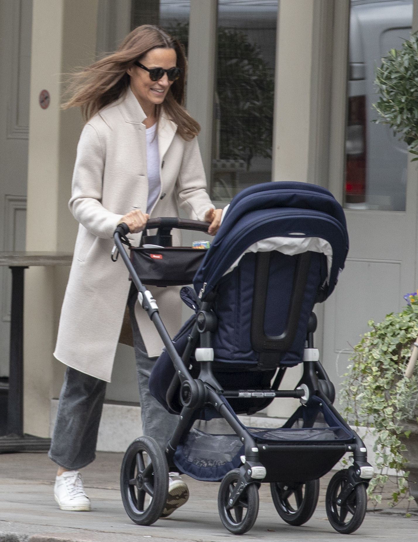 Pippa Middleton Takes Son Arthur for a Stroll in London on His First Birthday