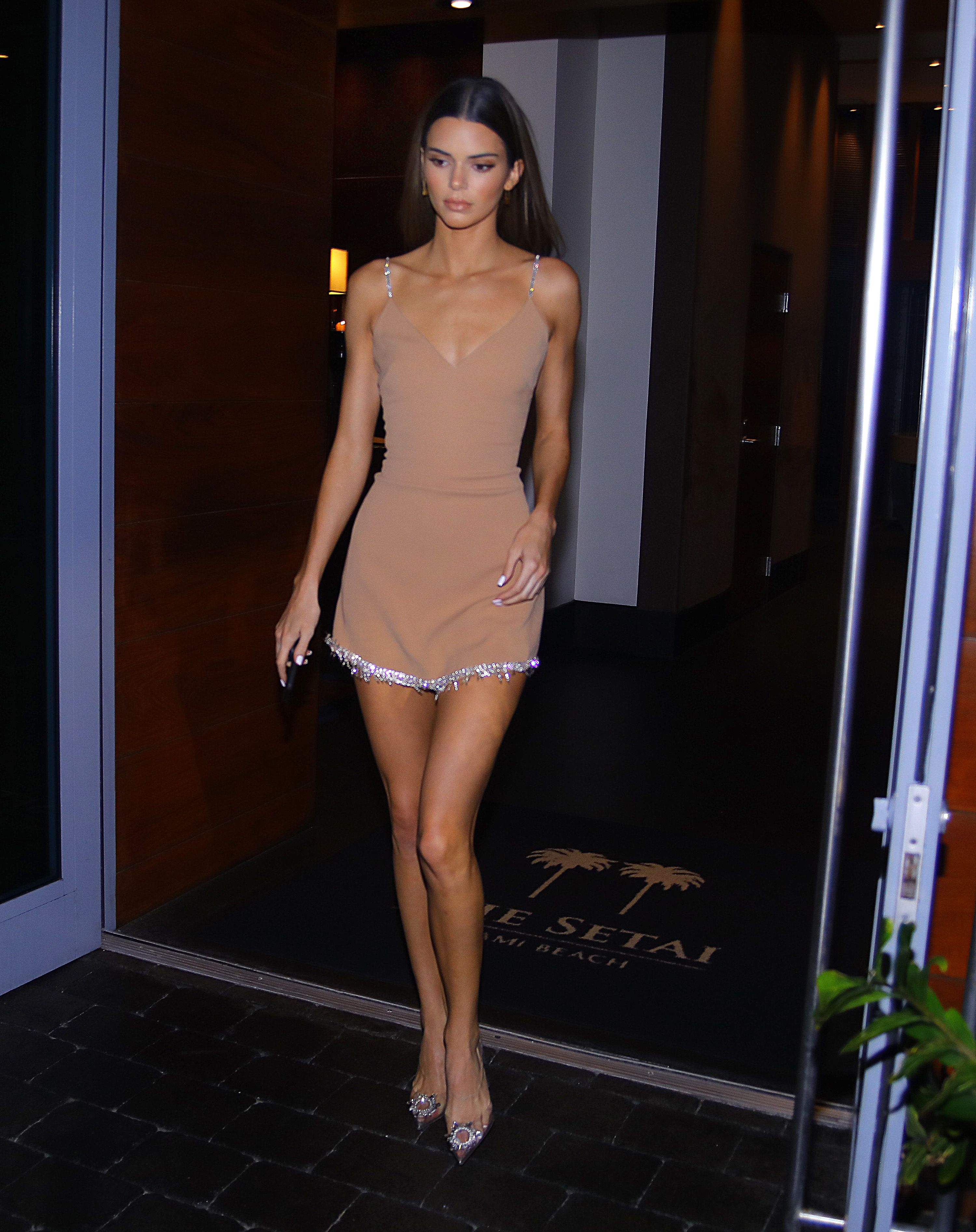 American Gladiators Naked kendall jenner just stepped out in a nude david koma dress