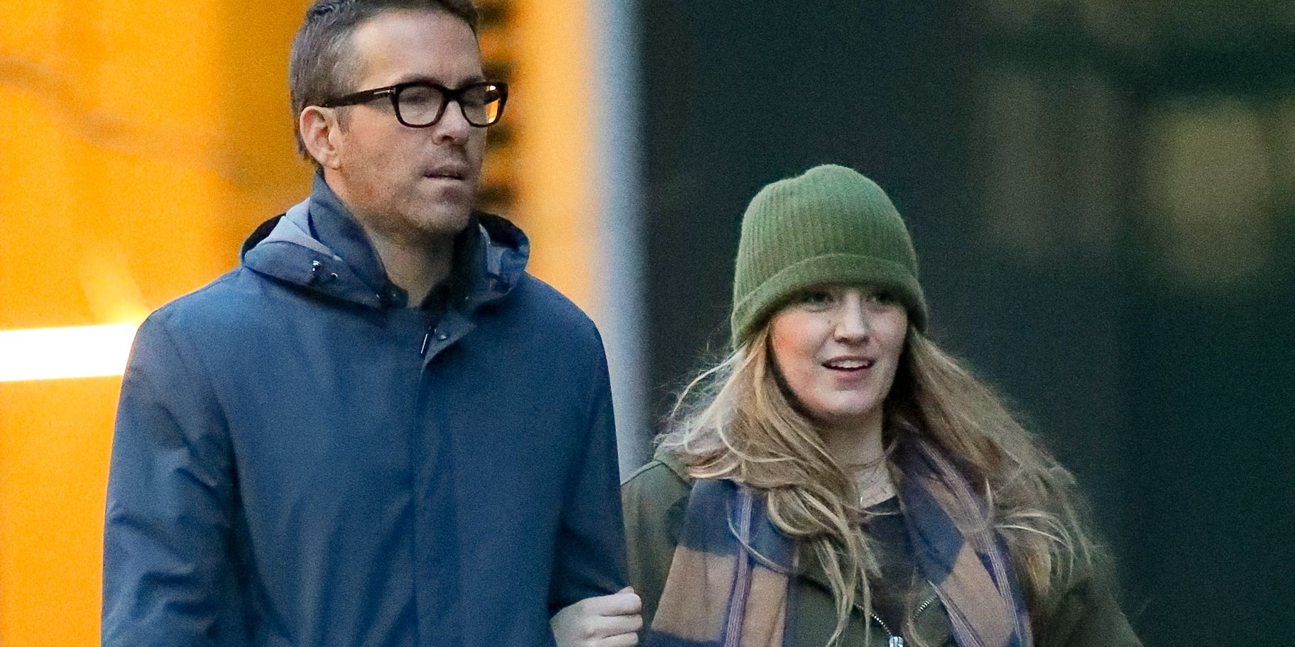Blake Lively and Ryan Reynolds Take a Stroll in New York City Together