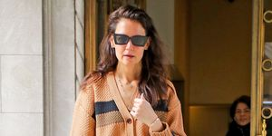 EXCLUSIVE: Katie Holmes Looks Chic While Stepping Out In New York City