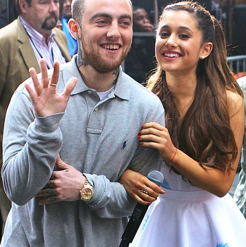 Ariana Grande Performs On The Today Show With Mac Miller In Nyc