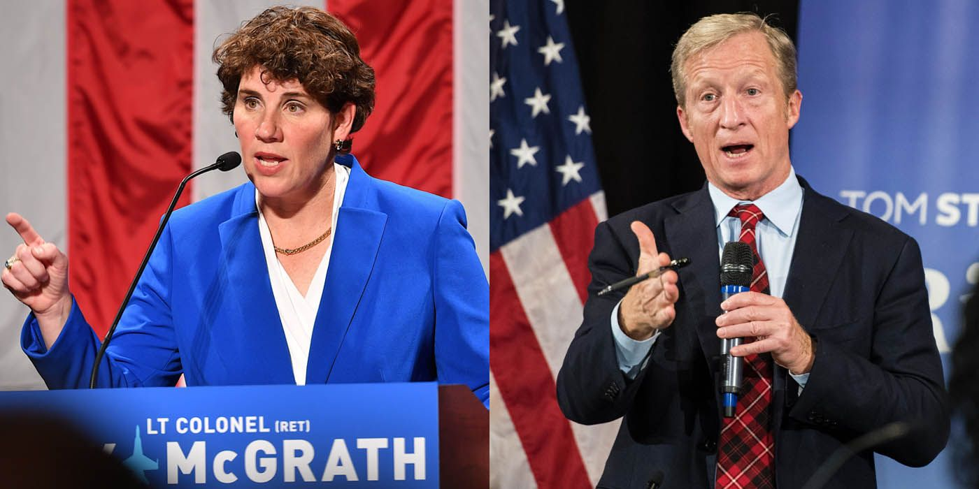 Amy McGrath Has the Wherewithal. Tom Steyer Is Just Unnecessary.