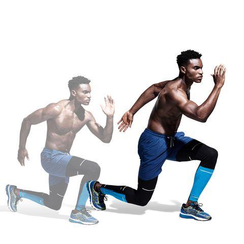 Fun, Illustration, Recreation, Muscle, Running, Jumping,