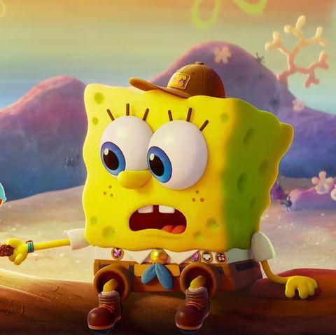 spongebob squarepants sponge on the run