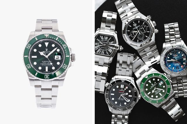 sponsored product note crown and caliber watches