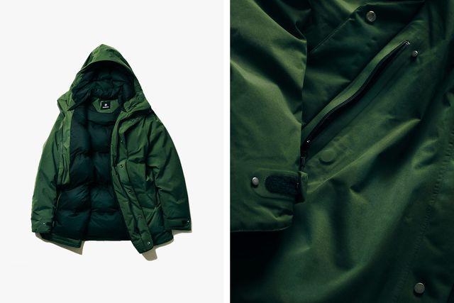 goldwin hooded down coat