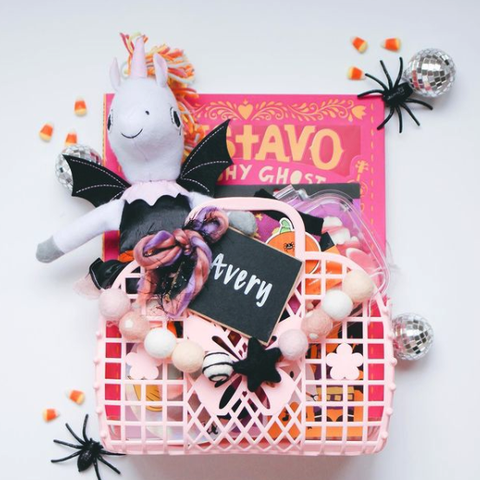 spooky basket idea from snyder family co