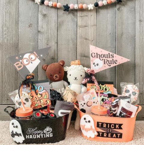 spooky basket idea