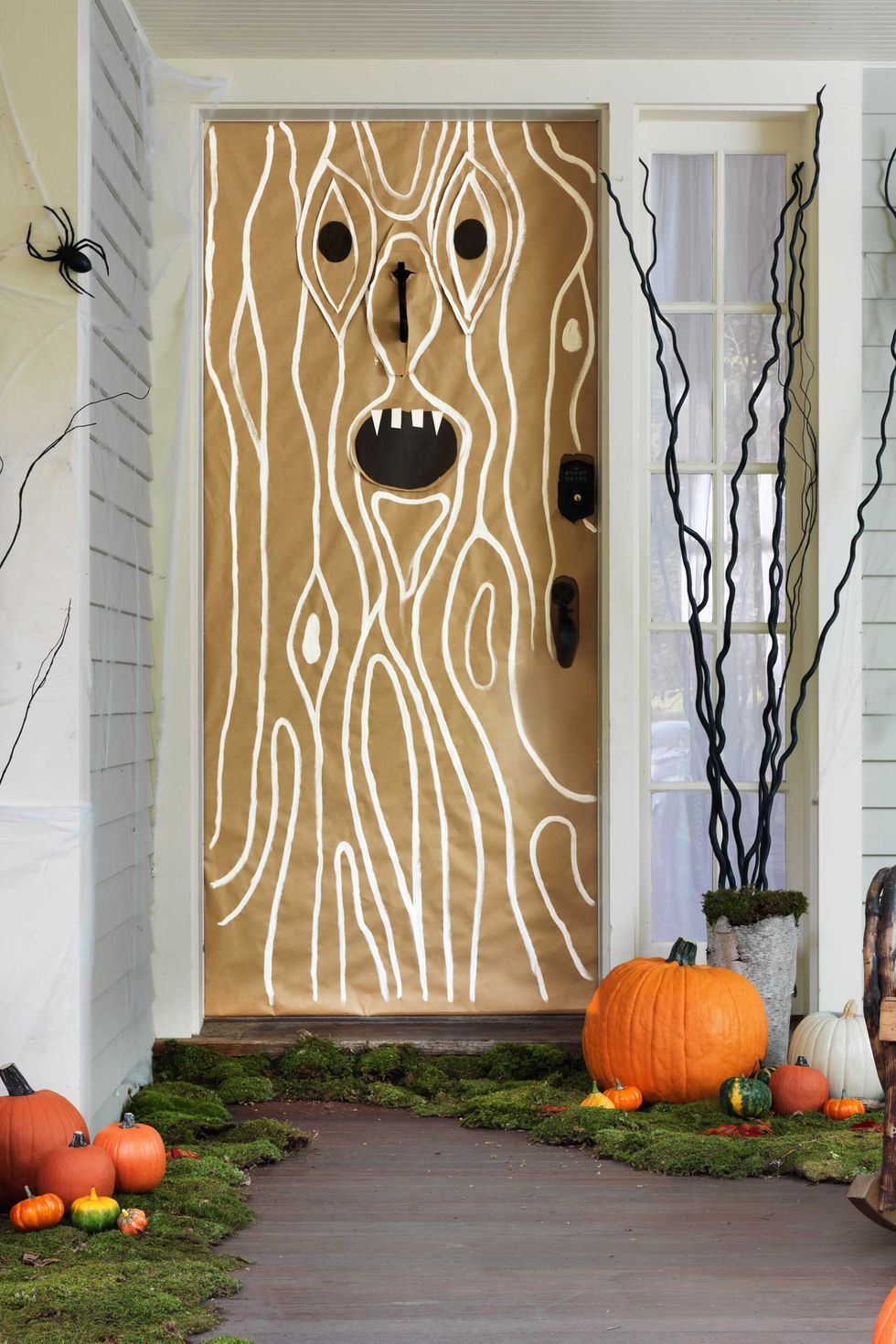 39 Best Halloween Door Decorations DIY Front Door Covers