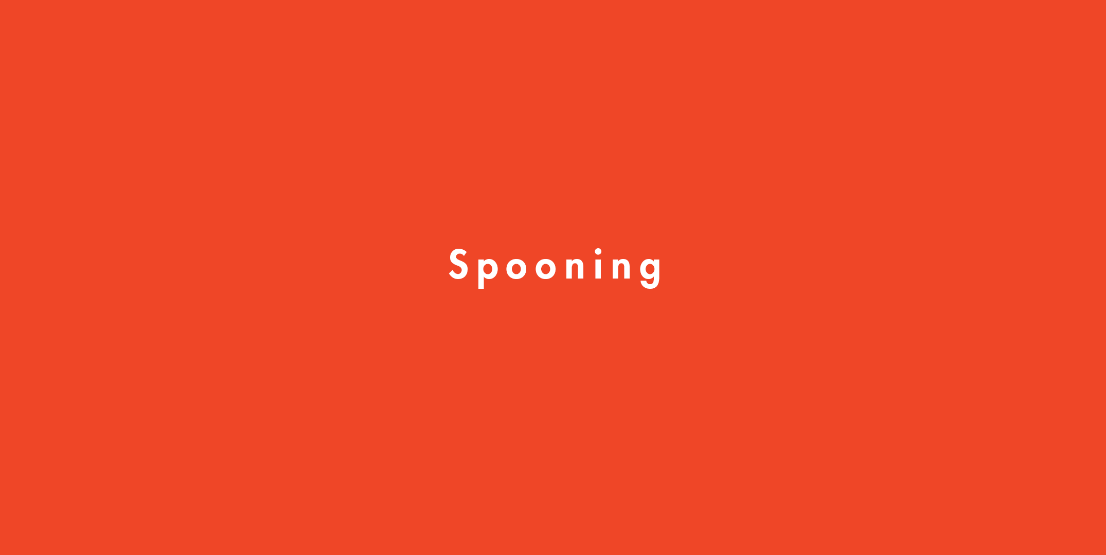 It what to does spoon sexually mean someone How to