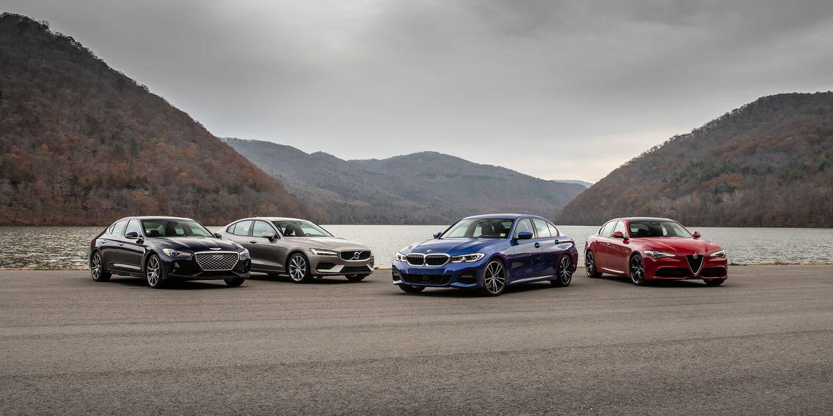 Sports-Sedan Rivals: Alfa vs. BMW vs. Genesis vs. Volvo