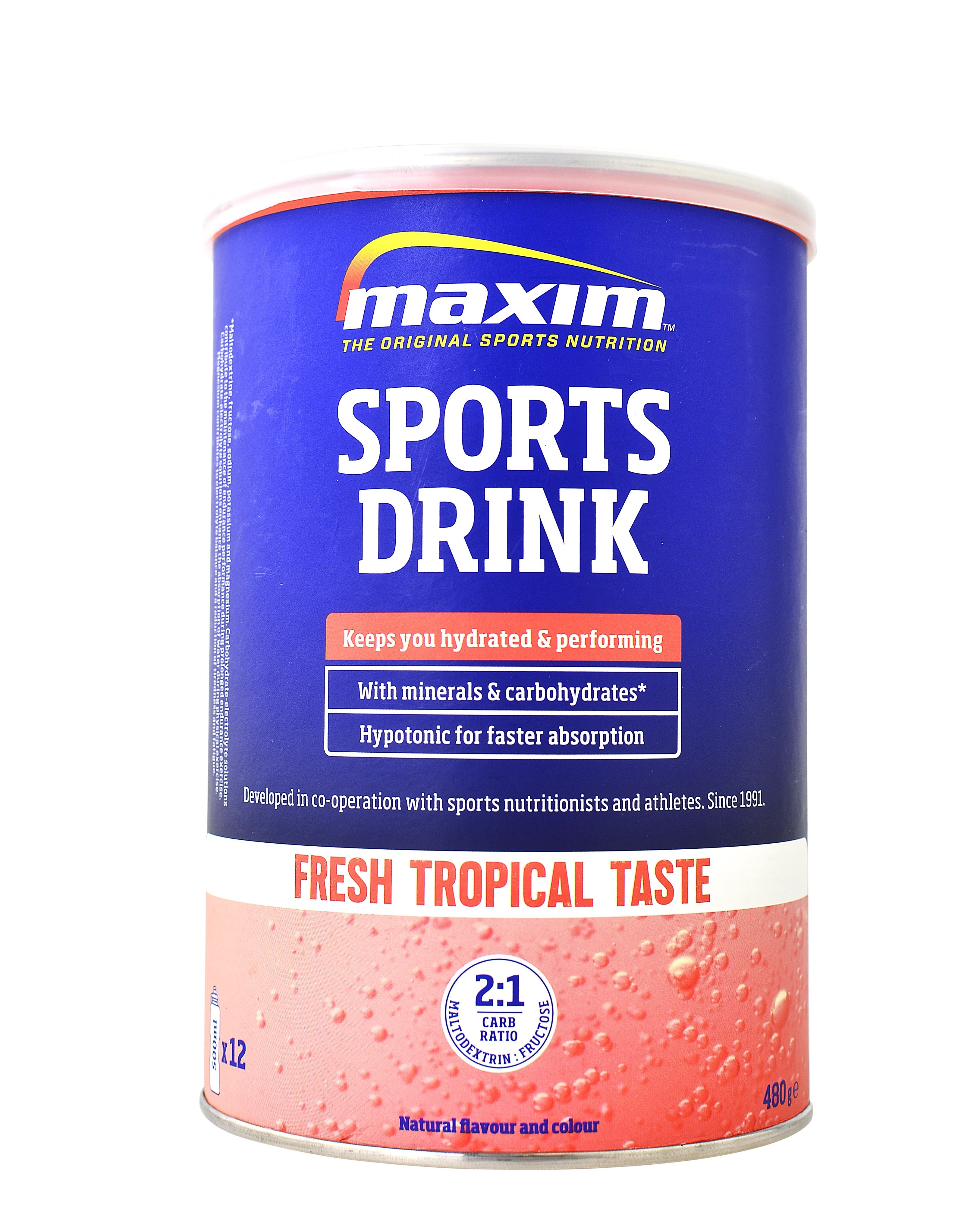 Isotone dorstlesser - Maxim Sports Drink