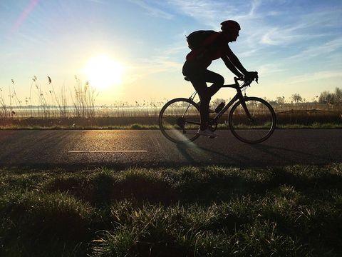 Sporten niet nodig voor mensen die de fiets pakken naar het werk