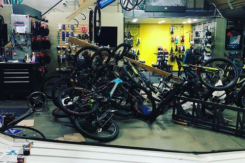 Brazen Bike Thieves Ram Vehicle Through Garage Door of Boulder Shop