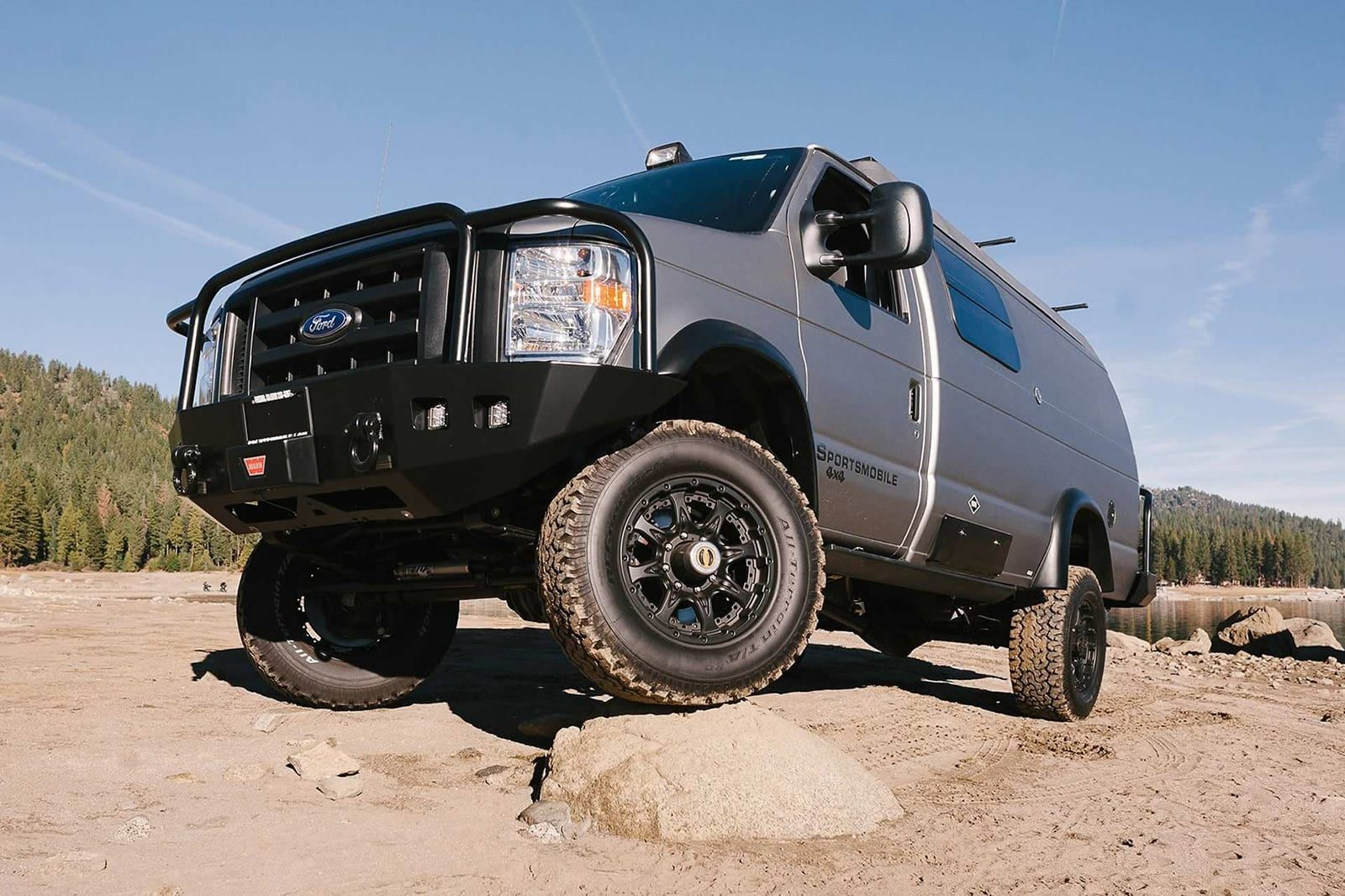Sportsmobile Turns Ford E Series Into A Rugged Camping Rig