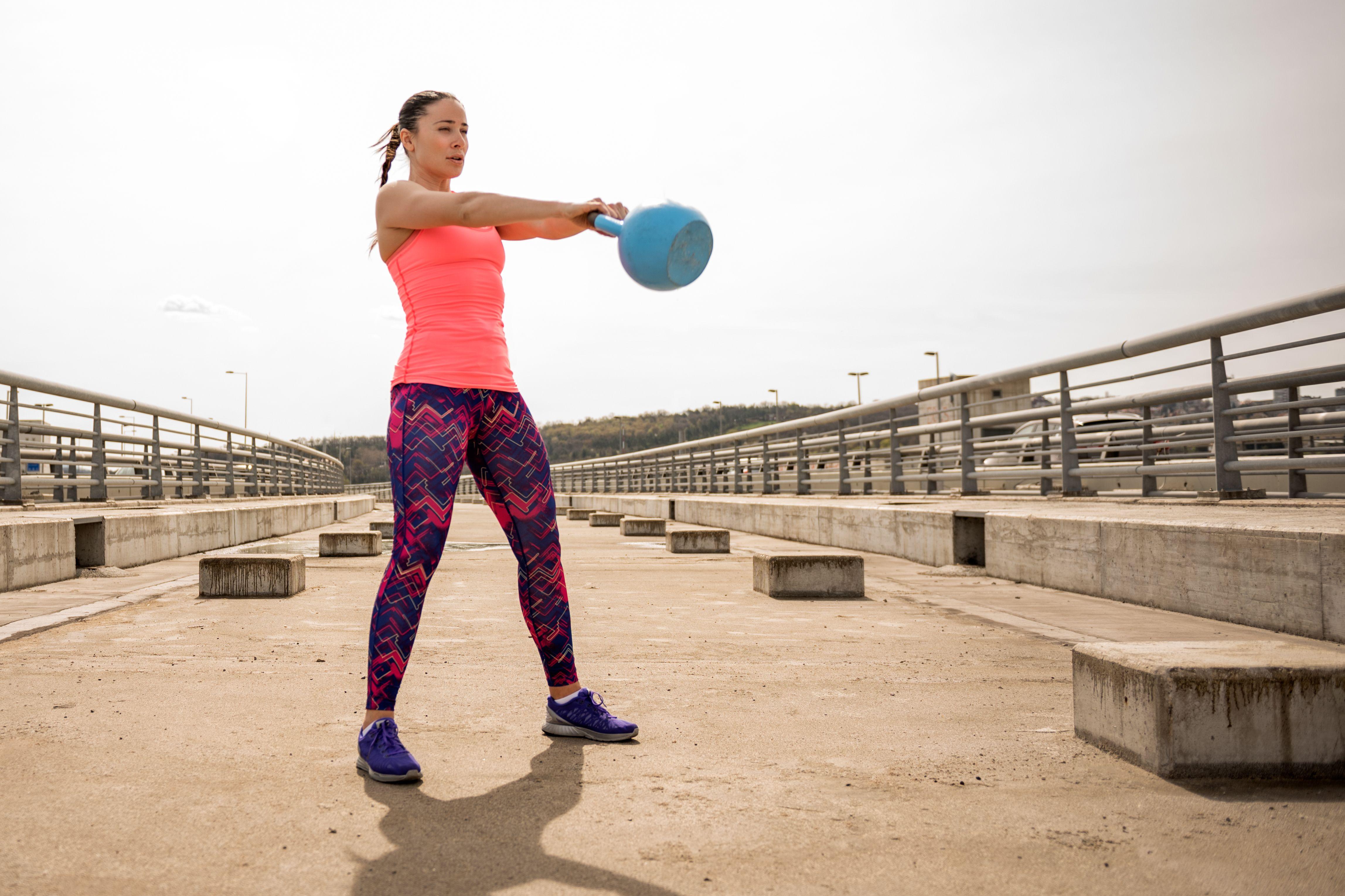 Kettlebell Exercises for Women: Your 16-Minute Full Body Workout