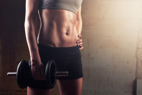 The 7-Minute Core Circuit That Will Blast Your Abs With a Single Dumbbell