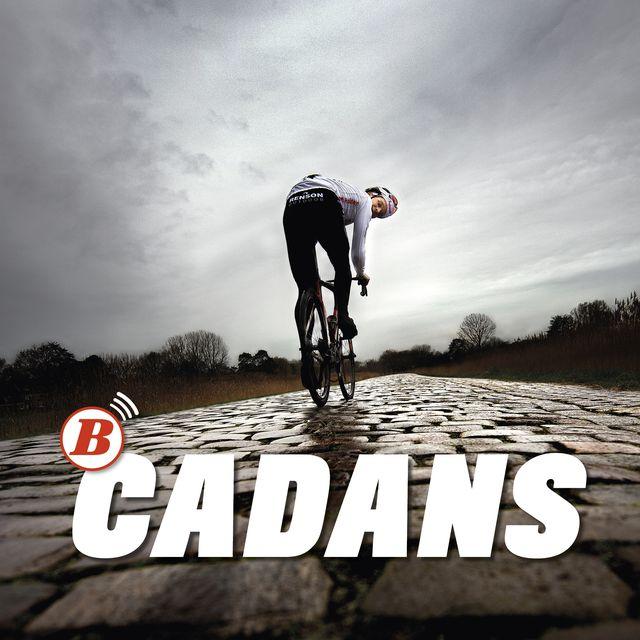 bicycling playlist cadans spotify logo