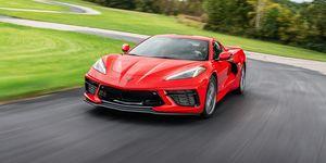 2020 Chevrolet Corvette front