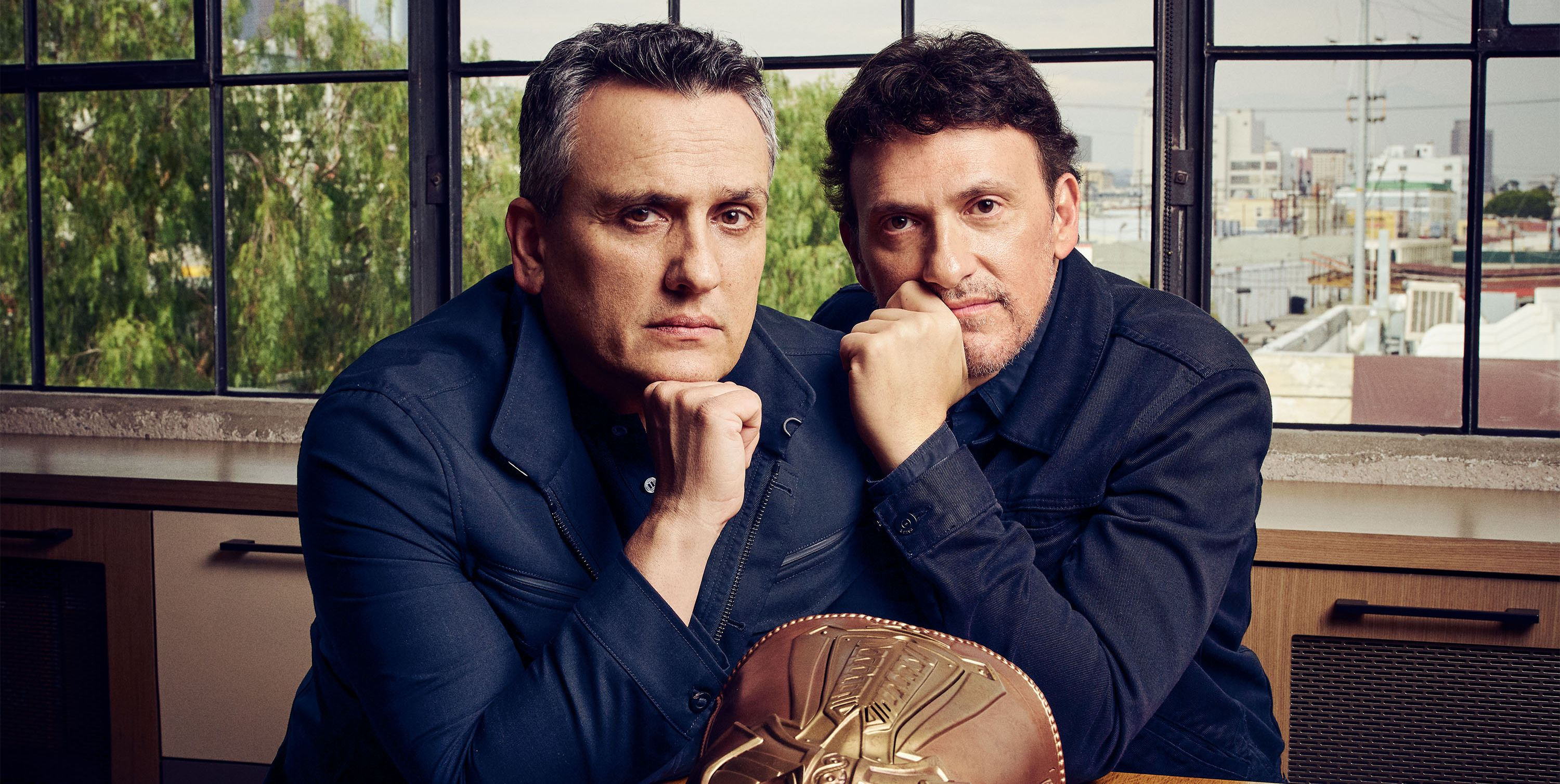 To hear Joe and Anthony Russo tell it, they're just two hardworking brothers from Cleveland who directed four of the biggest Marvel spectaculars, including Avengers: Endgame. Now they are taking on an even greater challenge: building a new studio from scratch.