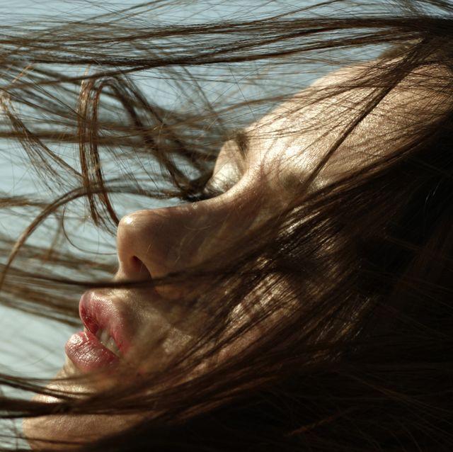 Hair, Face, Skin, Nose, Head, Close-up, Beauty, Lip, Eye, Eyebrow,