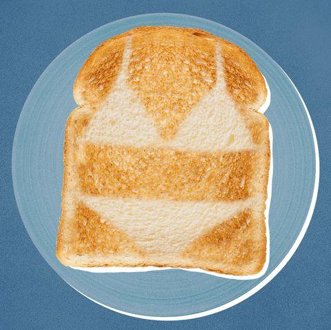 spray tan toast