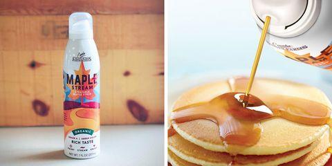 Pancake, Food, Breakfast, Drink, Ingredient, Syrup, Dish, Junk food, Meal,