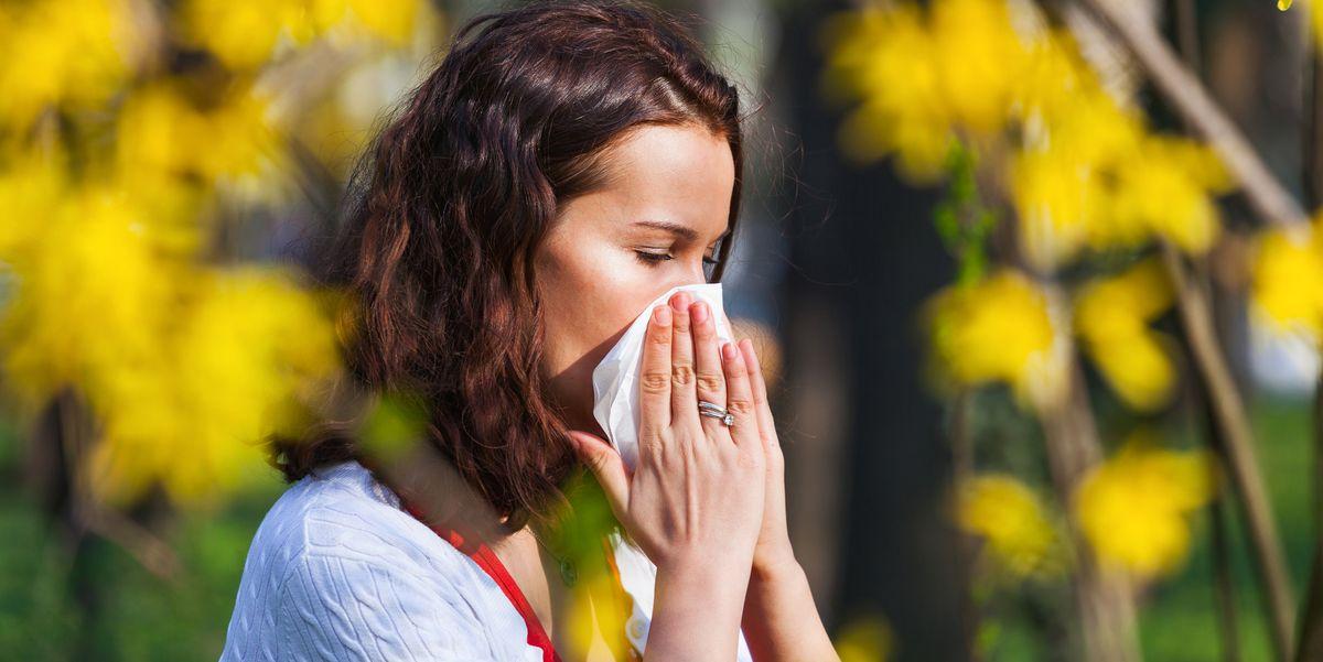 Как определить симптомы весенней аллергии, чтобы вам было легче