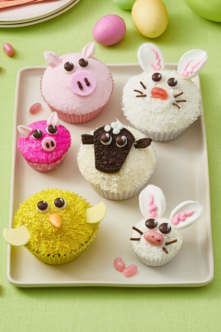 Spring Animal Cupcakes