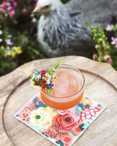 spring bouquet cocktail