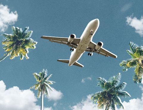 Airplane, Air travel, Airline, Aircraft, Aviation, Sky, Vehicle, Flight, Aerospace engineering, Daytime,