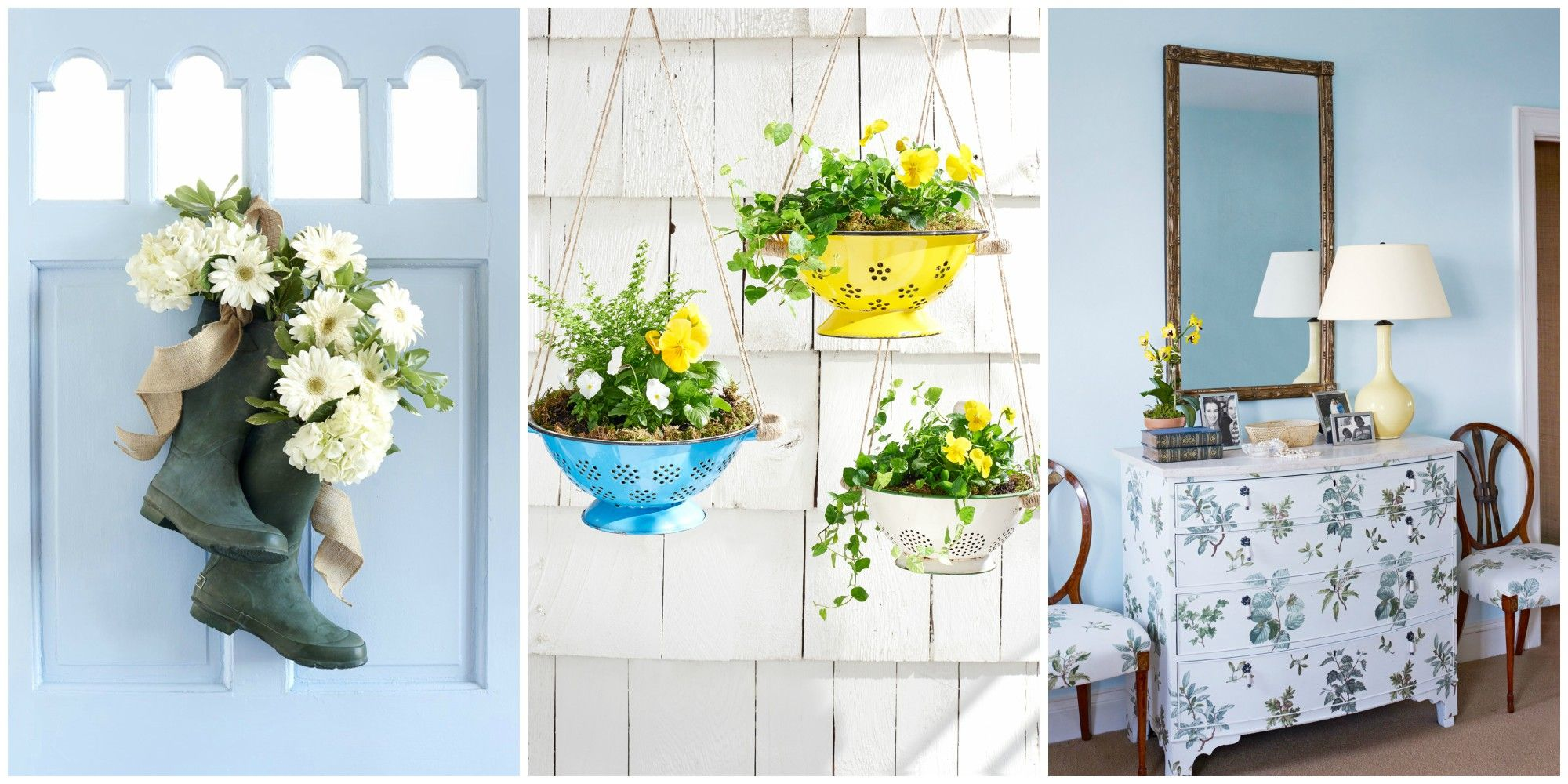 These Simple Projects Will Infuse Your Home With A Breath Of Fresh Country Air Also Check Out These Pretty Diy Wreaths And Beautiful Flower Craft Ideas For