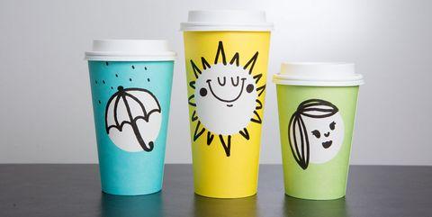 Green, Drinkware, Teal, Aqua, Tumbler, Design, Cup, Cylinder, Lid, Cup,