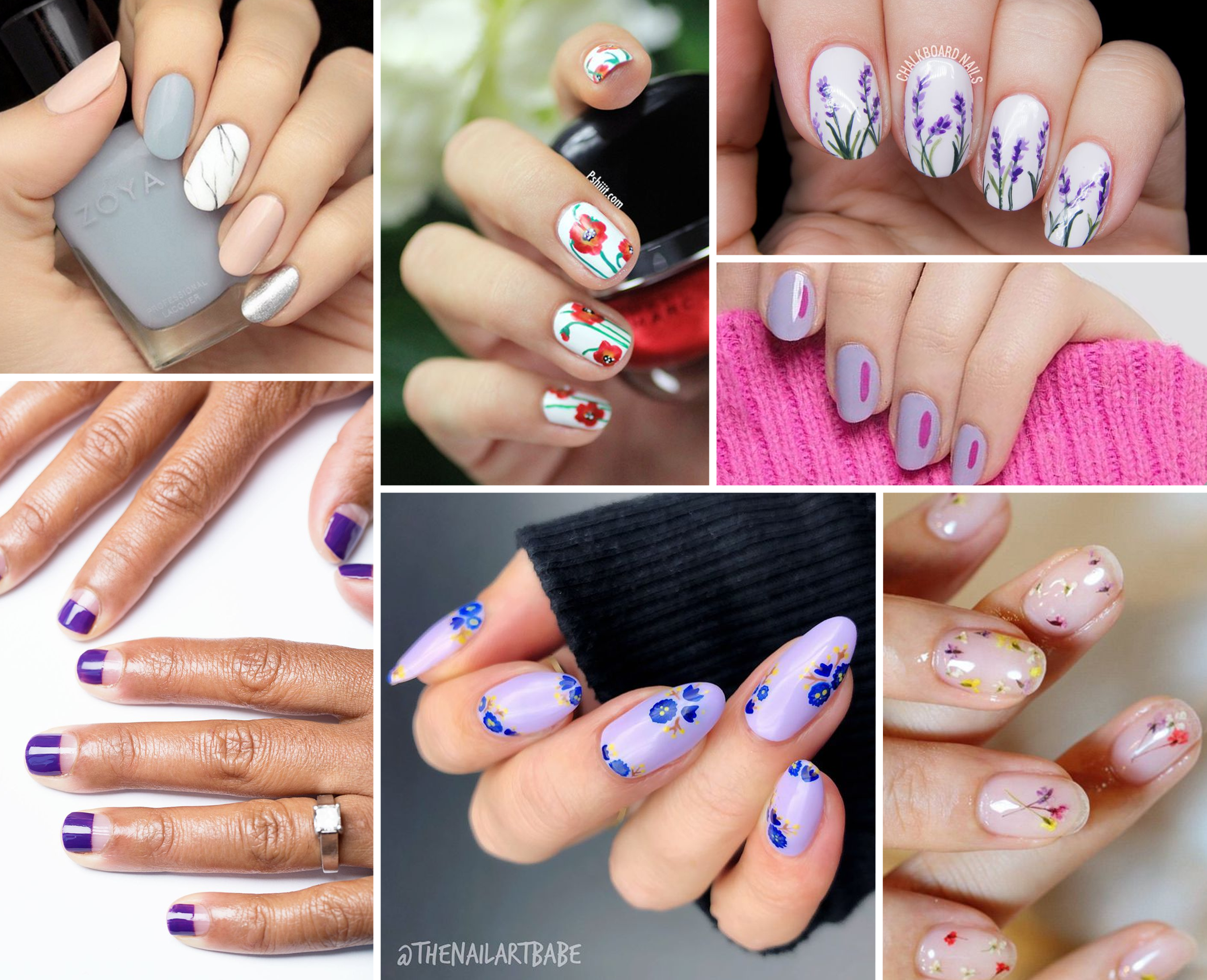 15 Spring Nail Designs Pretty Spring Nail Art Ideas 2019