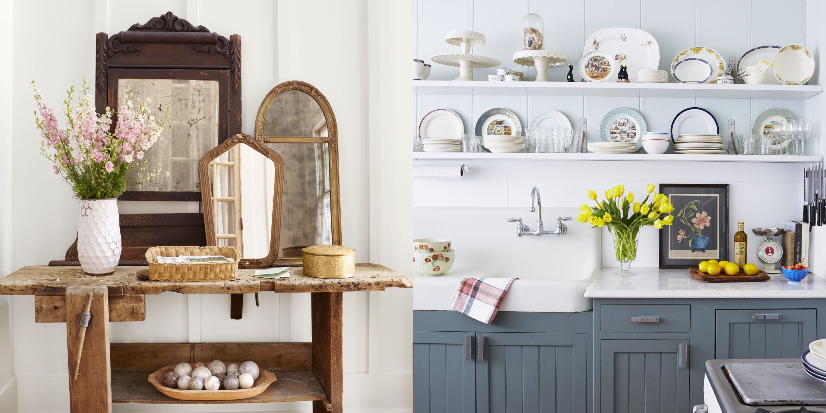 27 Beautiful Ways to Decorate Your Farmhouse for Spring - Spring Decorating  Ideas