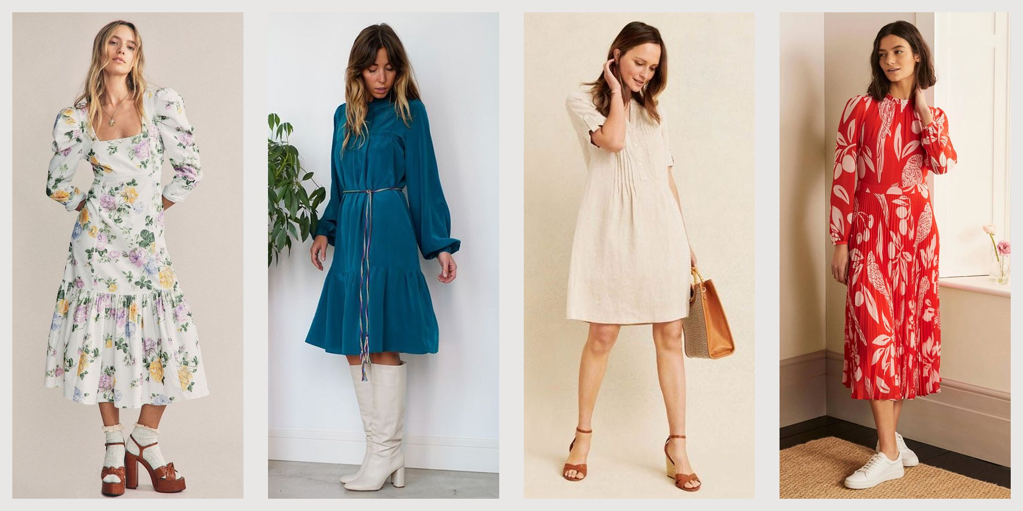 4 Cute Spring Dresses 4 - Casual and Chic Dresses to Wear in