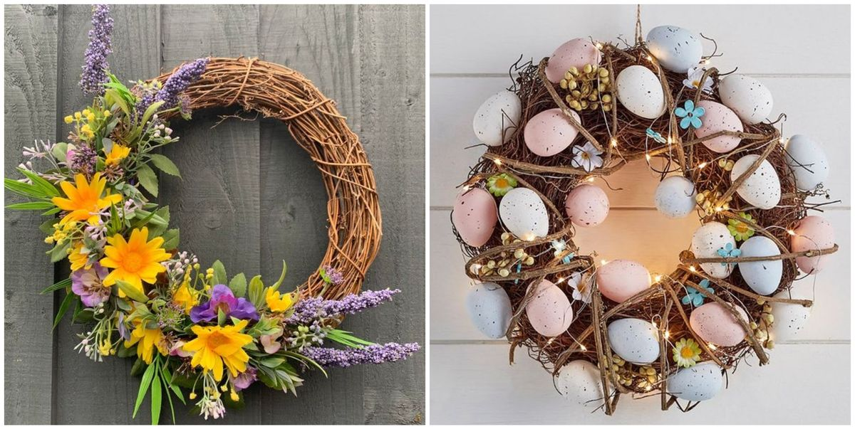 20 spring and Easter wreaths to adorn your door