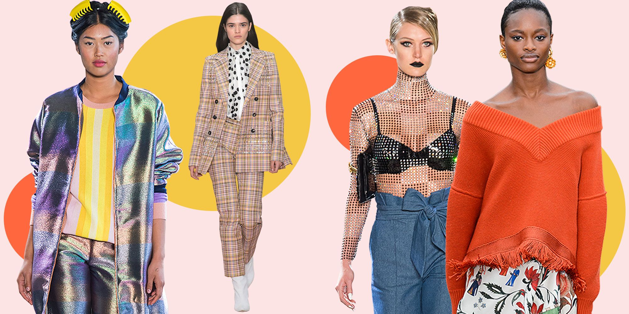 8 Spring 8 Fashion Trends - Top Spring Runway Trends for Women