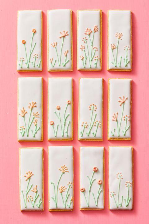 spring garden cookies