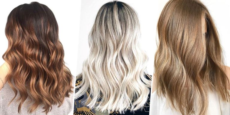 2018 Hairstyle For Dark Hair Color: 7 Prettiest Spring Hair Colors 2018
