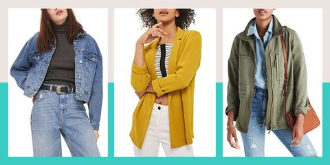 c393603369117 Spring Jackets for Women - Jacket Styles for Spring 2018