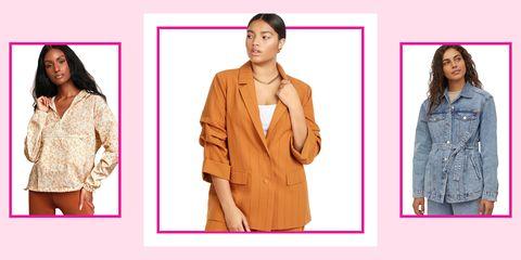 Clothing, Outerwear, Jacket, Fashion, Sleeve, Coat, Blazer, Top, Beige, Overcoat,