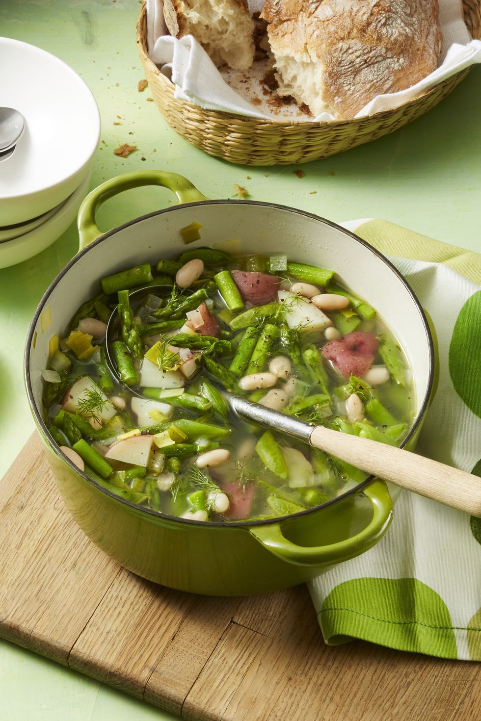 vegetarian recipes spring minestrone soup