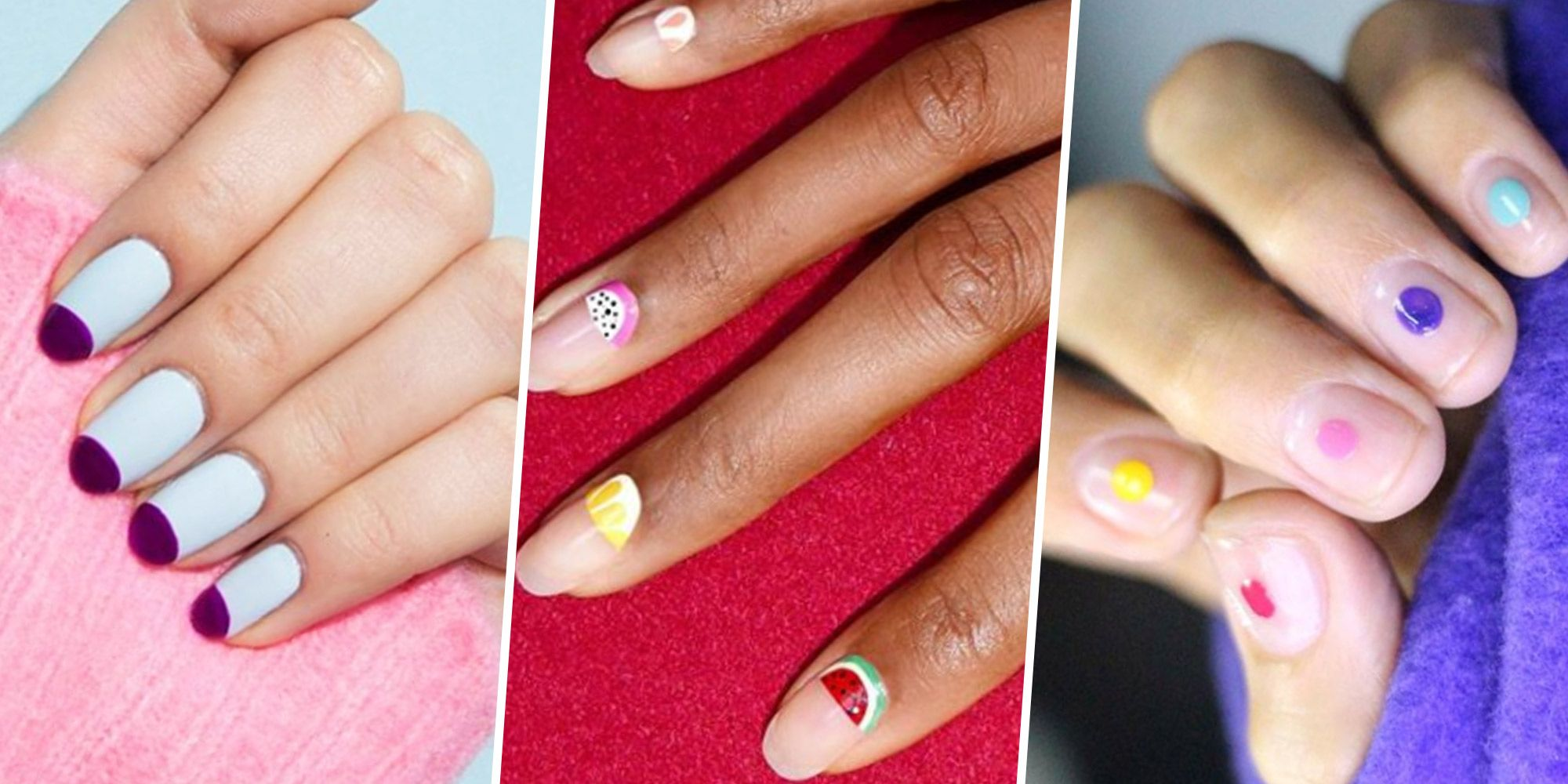 "25 Spring Nail Art Ideas That'll Make Your Friends Say ""OOH, Your Nails!""​"
