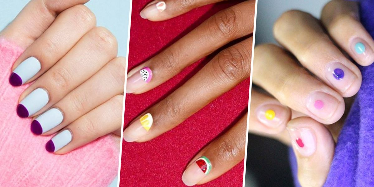 25 Pretty Spring Nail Art Designs - Cute Spring Manicure Ideas for 2018